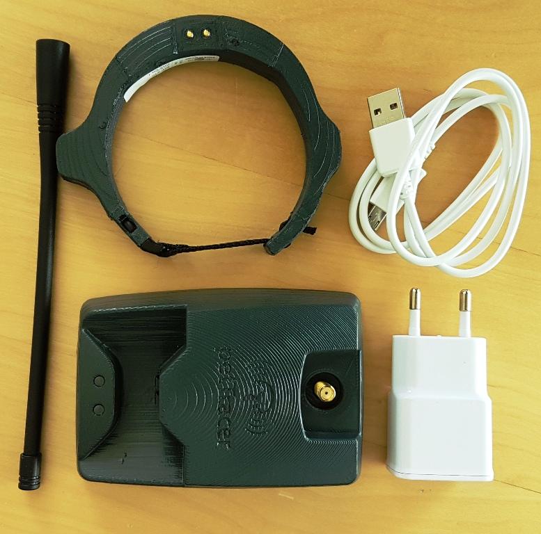 petTracer GPS Cat Collar Set